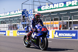 October 28, 2018 - Melbourne, Victoria, AUSTRALIE - MAVERICK VINALES - SPANISH - MOVISTAR YAMAHA MotoGP - YAMAHA (Credit Image: © Panoramic via ZUMA Press)