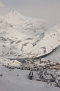 Tignes ski resort in the French Tarentaise Valley
