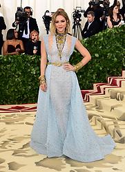 Katharine McPhee attending the Metropolitan Museum of Art Costume Institute Benefit Gala 2018 in New York, USA.