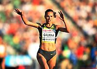 Friidrett , 6. juni 2008 , Golden League , Bislett Games<br /> <br /> <br /> Gulnara Samitova-Galkina , RUS  3000 m hinder