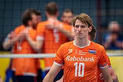 Twan Wiltenburg #10 of Netherlands in action during the Olaf Ratterman Memorial match between Netherlands vs. Eredivisie All Star team on May 03, 2021 in Barneveld.