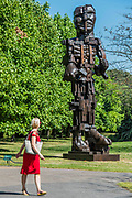 Eduardo Paolozzi, Vulcan (1999) - The Frieze Sculpture Park 2017 comprises large-scale works, set in the English Gardens . The installations will remain on view until 8 Oct 2017.