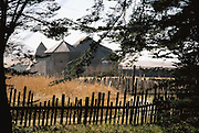 Fort Ross Historic State Park, near Bodega Bay, northern California. A Russian settlement from the 1800's.