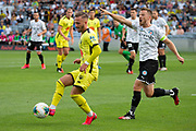 Wellington Phoenix Reno Piscopo, during their 1-0 win over Melbourne City FC, during the Hyundai A-League football match, between Wellington Phoenix and Melbourne City FC, held at Eden Park, Auckland, New Zealand.  15  February  2020    Photo: Brett Phibbs / www.photosport.nz