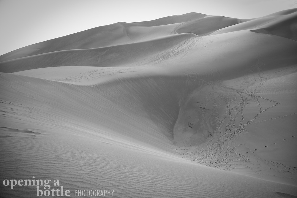 Great Sand Dunes National Park, Colorado. Full color image available upon request.