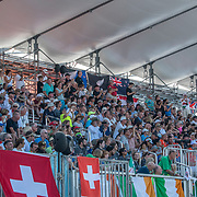 NZ Supporters<br /> <br /> Semi-Finals races at the World Championships, Sarasota, Florida, USA Friday 29 September 2017. Copyright photo © Steve McArthur / Rowing NZ