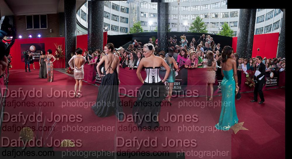 LOUI BATLEY; HOLLIE JAY BOWEN; , 2009 Soap Awards, BBC Television Centre. London. 9 May 2009.