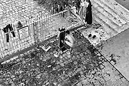 Paris during Covid 19 pandemic. migrants camp in saint Denis