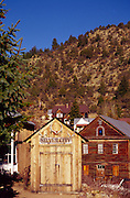 Idaho, Silver City; historic mining town; Owyhee, Canyonlands,  County