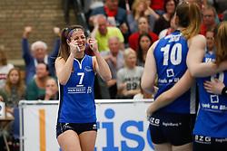 20170430 NED: Eredivisie, VC Sneek - Sliedrecht Sport: Sneek<br />Nienke de Waard (7) of Sliedrecht Sport <br />©2017-FotoHoogendoorn.nl / Pim Waslander