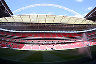 a General view of inside Wembley Stadium earlier today.  Premier league match, Tottenham Hotspur v Burnley at Wembley Stadium in London on Sunday 27th August 2017.<br /> pic by Steffan Bowen, Andrew Orchard sports photography.