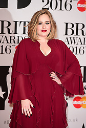 File photo dated 23/05/16 of Adele, who has ended speculation about her marital status, confirming she has tied-the-knot.