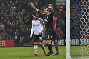 Crystal Palace Goalkeeper, Julian Speroni (1) during the The FA Cup 3rd round match between Bolton Wanderers and Crystal Palace at the Macron Stadium, Bolton, England on 7 January 2017. Photo by Mark Pollitt.