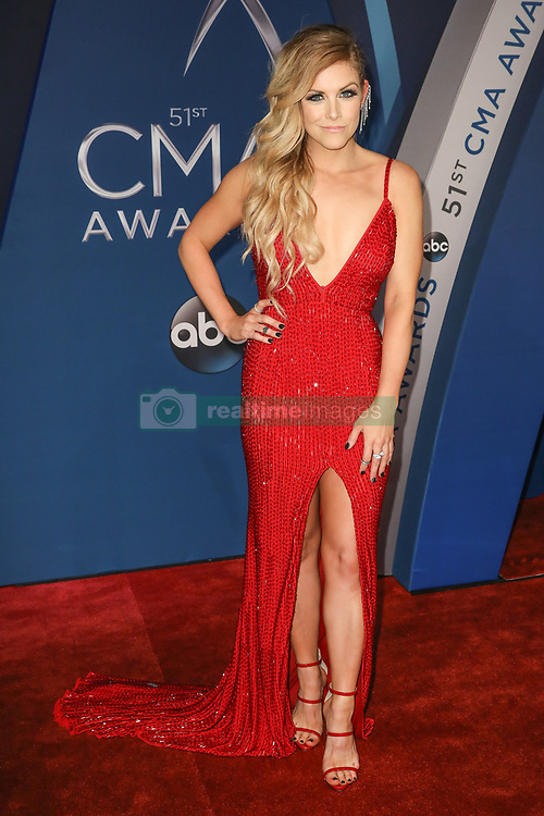 Thomas Rhett at the 51st Annual Country Music Association Awards hosted by Carrie Underwood and Brad Paisley and held at the Bridgestone Arena on November 8, 2017 in Nashville, TN. © Curtis Hilbun / AFF-USA.com. 08 Nov 2017 Pictured: Lindsay Ell. Photo credit: MEGA TheMegaAgency.com +1 888 505 6342