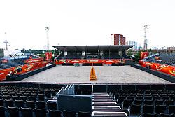 20150625 NED: WK Beach volleybal speelsteden, Rotterdam<br />Het stadion in Rotterdam bij de SS Rotterdam