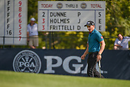 Paul Dunne (IRE) approaches the green on 9 during 2nd round of the 100th PGA Championship at Bellerive Country Club, St. Louis, Missouri. 8/11/2018.<br /> Picture: Golffile   Ken Murray<br /> <br /> All photo usage must carry mandatory copyright credit (© Golffile   Ken Murray)