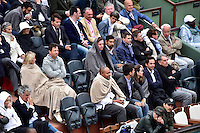 Supporters avec des Couvertures - 31.05.2015 - Jour 8 - Roland Garros 2015 <br />