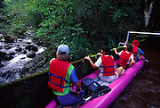 Kayaking, Kohala Ditch, Island of Hawaii<br />
