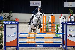 Zimmermann Wolfgang, Kannan Jr<br /> KWPN Hengstenkeuring 2021<br /> © Hippo Foto - Dirk Caremans<br />  06/02/2021