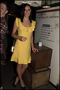 LINZI STOPPARD, Cahoots club launch party, 13 Kingly Court, London, W1B 5PW  26 February 2015