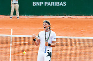 Jozef Kovalic (svk) during the Roland Garros French Tennis Open 2018, Preview, on May 21 to 26, 2018, at the Roland Garros Stadium in Paris, France - Photo Pierre Charlier / ProSportsImages / DPPI