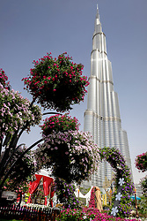 Dubai, 3rd April; The opening day of the first Dubai International Garden Competion.