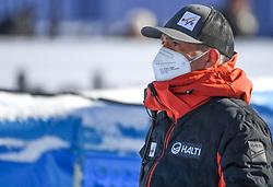 11.02.2021, Cortina, ITA, FIS Weltmeisterschaften Ski Alpin, Super G, Damen, im Bild Andi Körner FIS // Andi Körner FIS during the womens Super G Race of FIS Alpine Ski World Championships 2021 in Cortina, Italy on 2021/02/11. EXPA Pictures © 2021, PhotoCredit: EXPA/ Erich Spiess