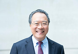 The Andrew Marr Show <br /> at the BBC, Broadcasting House, London, Great Britain <br /> 9th September 2018 <br /> <br /> Yo Yo Ma<br /> Cellist <br /> <br /> <br /> Photograph by Elliott Franks
