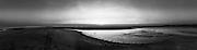 Nederland, Zuid-Holland, Rotterdam, 27-03-2017; Slikken van Voorne bij Tweede Maasvlakte. <br /> Voorne Mudflats.<br /> <br /> Gigapanorama (montage).<br /> copyright foto/photo Siebe Swart