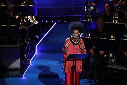 June 15, 2017 - Stockholm, Sweden - Esperanza Spalding ..Polar Music Prize 2017, awards ceremony, Stockholm, Sweden, 2017-06-15 ..(c) Patrik C Österberg / IBL..XPBE. (Credit Image: © Aftonbladet/IBL via ZUMA Wire)