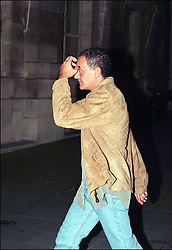 File photo taken on August 31, 1997 - Dodi Al Fayed going to the Ritz hotel just few hours before he died in a car crash under Alma tunnel in Paris. Princess Diana died on August 31 1997 after suffering fatal injures in a car crash in the Pont de l'Alma road tunnel in Paris. Her companion Dodi Fayed and driver and security guard Henri Paul were also killed in the crash. Photo by ABACAPRESS.COM
