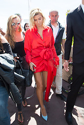 Hailey Baldwin on croisette during 70th Cannes film festival on May 24, 2017 in Cannes, France. Photo by Nasser Berzane/ABACAPRESS.COM