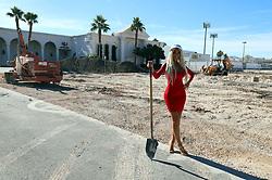 Farrah Abraham Visits Crazy Horse 3 in LAs Vegas To Tour The Club's Expansion Progress <br />Crazy Horse 3