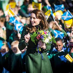 The Duchess of Cambridge visits Edinburgh, 24/2/2016