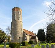 Village parish church Hasketon, Suffolk, England, UK
