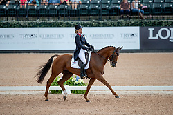 Cook Kristina, GBR, Billy the Red<br /> World Equestrian Games - Tryon 2018<br /> © Hippo Foto - Sharon Vandeput<br /> 13/09/2018