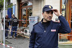 May 3, 2019 - Three people, including a child, were injured by gunfire in an ambush in the crowd that took place, on the corner of Piazza Nazionale and Via Acquaviva in Naples. The target was a convict, Salvatore Nurcaro, 32, hit by six bullets and admitted to the Loreto Mare hospital. 05/03/2019, Naples, Italy (Credit Image: © Salvatore Laporta/IPA via ZUMA Press)