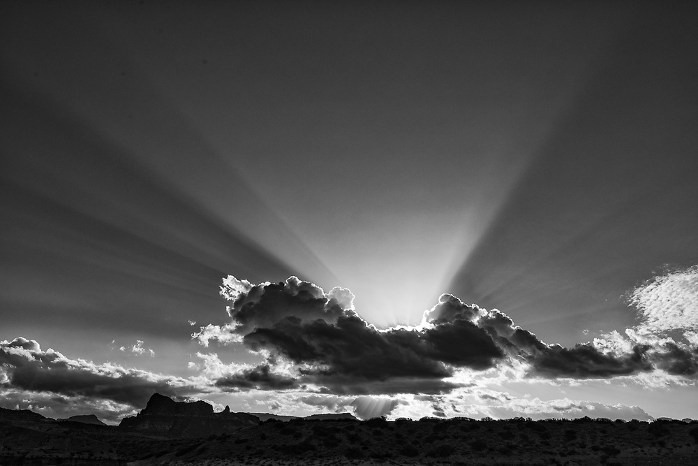 Afternoon clouds, March, Sea of Cortez, Baja, Mexico