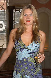 CELIA WALDEN at a party to celebrate the publication of 'A Much Married Man' by Nicholas Coleridge held at the ESU, Dartmouth House,  37 Charles Street, London W1 on 4th May 2006.<br />