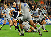 Rebels captain, Stirling Mortlock <br /> Melbourne Rebels v The Hurricanes<br /> Rugby Union - 2011 Super Rugby<br /> AAMI Park, Melbourne VIC Australia<br /> Friday, 25 March 2011<br /> © Sport the library / Jeff Crow