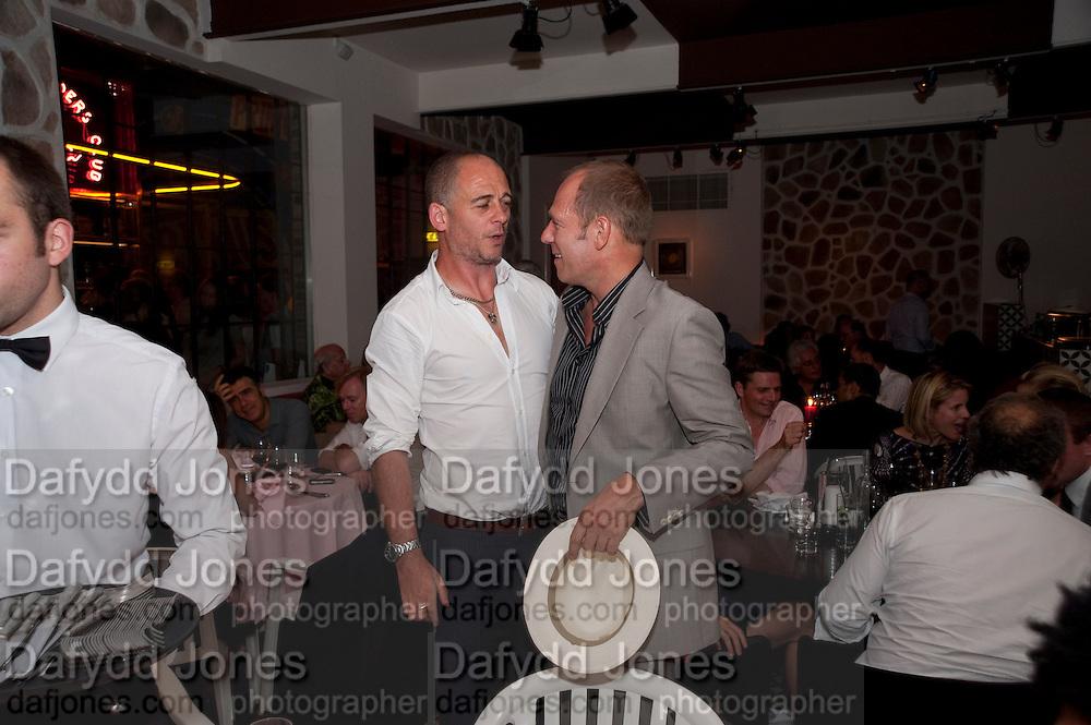 DINOS CHAPMAN; PAUL SIMONON, Prada Congo Benefit party. Double Club. Torrens Place. Angel. London. 2 July 2009.