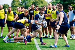 Harry Randall in action during week 1 of Bristol Bears pre-season training ahead of the 19/20 Gallagher Premiership season - Rogan/JMP - 03/07/2019 - RUGBY UNION - Clifton Rugby Club - Bristol, England.