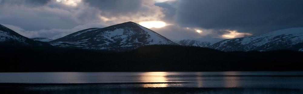 Sunset at Loch Morlich