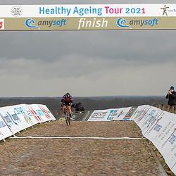12-03-2021: Wielrennen: Healthy Ageing Tour: Wijster<br />Lonneke Uneken heeft de slotrit van de Healthy Ageng Tour gewonnen met een lange solo, nadat ze eerder al in een kopgroep van vijf had plaats genomen.