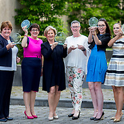 23.05.2018.       <br /> Today, the Institute of Community Health Nursing (ICHN) hosted its2018 community nurseawards in association withHome Instead Senior Care,at its annual nursing conference, in the Strand Hotel Limerick, rewarding public health nurses for their dedication to community care across the country. <br /> <br /> Pictured are, ICHN Nurse Awards Joint Award Winner, Teresa O Dowd Registered General Nurse Lucan Health Centre Dublin, ICHN Nurse Award Winner 2018 from the Kildare Area - Emer Casey Registered General Nurse Maynooth, Co Kildare, Lifetime Achievement Award Winner Mary McDermott DPHN CHO 9, Overall Winner - Anne Marie Kelly CNS Continence Promotion Unit Dr Stevens Hospital Dublin, ICHN Nurse Awards Joint Award Winners Aoife McEvoy Public Health Nurse Lucan Health Centre and Sandra Flaherty Public Health Nurse Lucan Health Centre. Picture: Alan Place