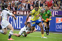 Naipolioni NALAGA / Julien ARIAS  - 13.06.2015 - Clermont / Stade Francais - Finale Top 14<br />Photo : Nolwenn Le Gouic / Icon Sport