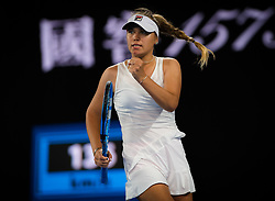 January 17, 2019 - Melbourne, AUSTRALIA - Sofia Kenin of the United States in action during the second round at the 2019 Australian Open Grand Slam tennis tournament (Credit Image: © AFP7 via ZUMA Wire)
