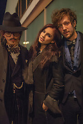 JOSHUA KANE; NIKITA ANDRIANOVA; MARCUS ANDERSON, Daniel Lismore birthday party. Whisky Mist, Hilton Park Lane, London. 19 December 2013
