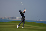 Connor Syme (SCO) on the 9th during Round 3 of the Oman Open 2020 at the Al Mouj Golf Club, Muscat, Oman . 29/02/2020<br /> Picture: Golffile   Thos Caffrey<br /> <br /> <br /> All photo usage must carry mandatory copyright credit (© Golffile   Thos Caffrey)