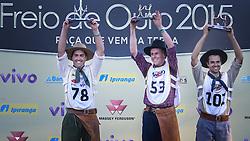 Ginete Milton Castro,campeão Freio de Ouro 38ª Expointer, que ocorrerá entre 29 de agosto e 06 de setembro de 2015 no Parque de Exposições Assis Brasil, em Esteio. FOTO: Pedro H. Tesch/ Agência Preview